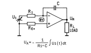 current integrator circuit servowatt wiring of the progamming circuit board as a current controller with differential