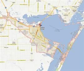 corpus christi map