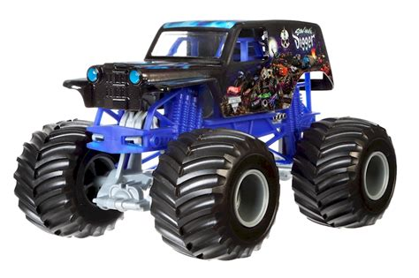 wheels monster truck race track assortiment wheels monster jam vehicule 1 24 shop