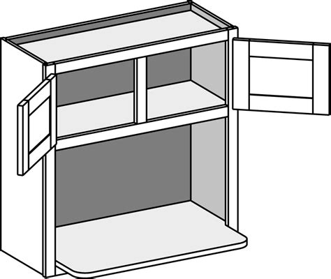 microwave wall cabinet shelf