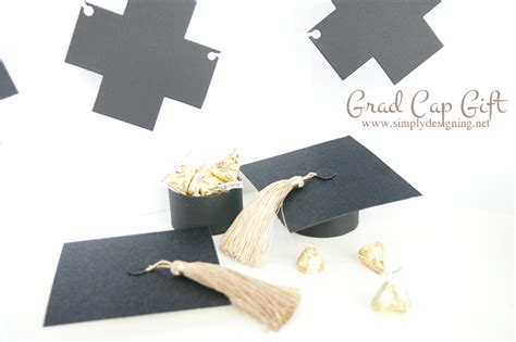 How To Make A Graduation Hat Out Of Paper - graduation cap gift box