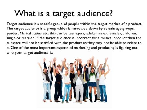 what is the target target audience finished