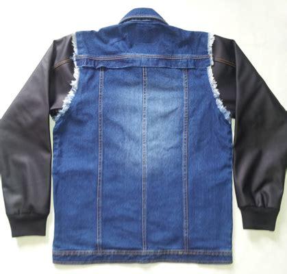 Jaket Semi Kulit Berkualitas Tinggi Menerima Preorder jaket denim justin jaket casual jdj002 kip s style