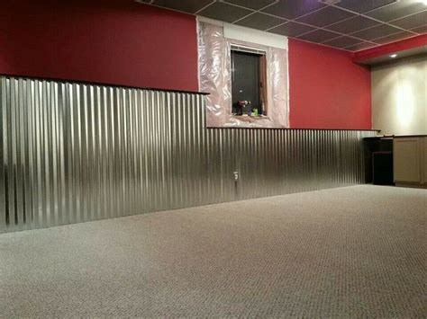Corrugated Metal Wainscoting corrugated tin wainscoting quot sew quot amazing