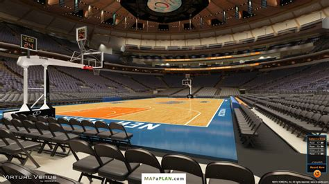 Madison Square Garden Seating Chart Section 3 View