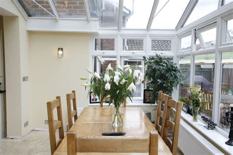 Kitchen Dining Room Extension Large Conservatory Forming A Lovely Light Dining Room And