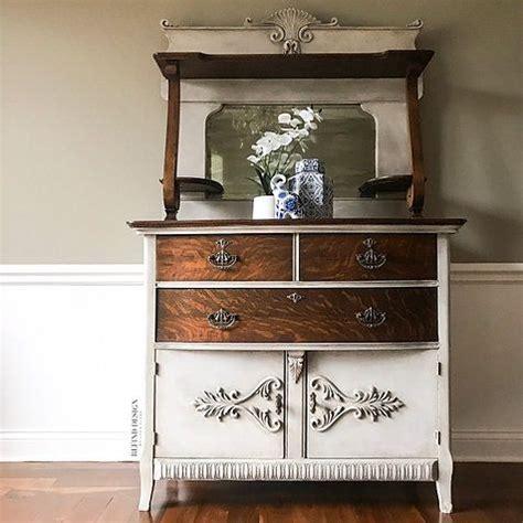 antique victorian buffet  mirror refind design