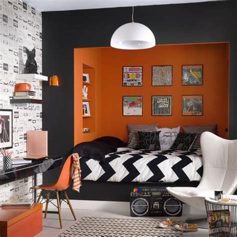 orange bedroom decor the 25 best ideas about orange bedrooms on pinterest