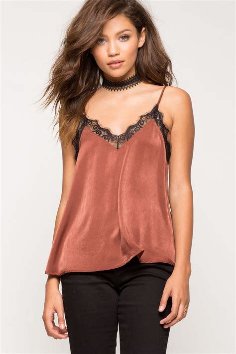 Lace Cami s camis lace front satin cami a gaci