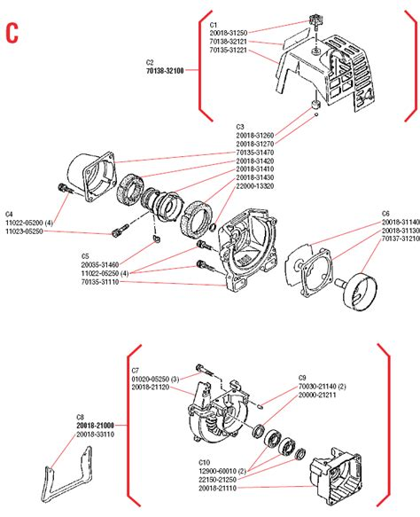 shindaiwa trimmer parts diagram shindaiwa le250 illustrated parts diagrams