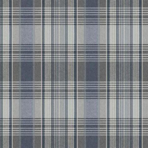 wallpaper grey tartan bartola plaid wallpaper in blue and grey design by york