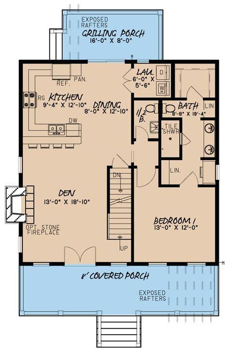 story  floor plan main level
