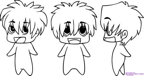 anime chibi how to draw chibi anime step by step chibis draw chibi