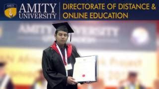 Amity Mba Review by Amity Directorate Of Distance And Education Amity