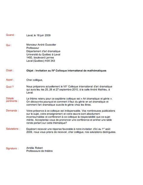 Exemple De Lettre De Départ Remerciement mod 232 le de lettre de remerciement pour invitation