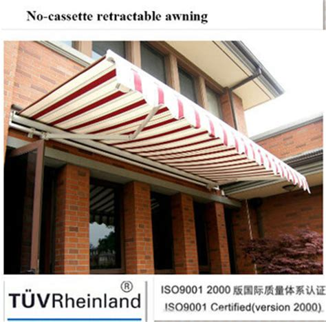 Retractable Awnings Price List by No Cassette Retractable Low Price Awnings Buy Low Price