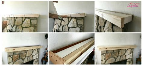 mantel makeover an easy diy home improvement with
