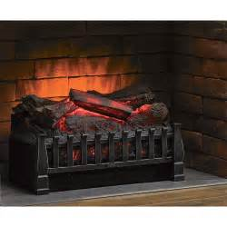duraflame electric log set insert 4600 btu 1350 watts