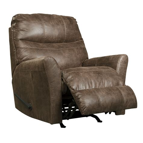 signature design recliner signature design by ashley rocker recliner wayfair