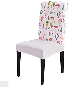 amazoncom pink flamingo chair covers polyester spandex