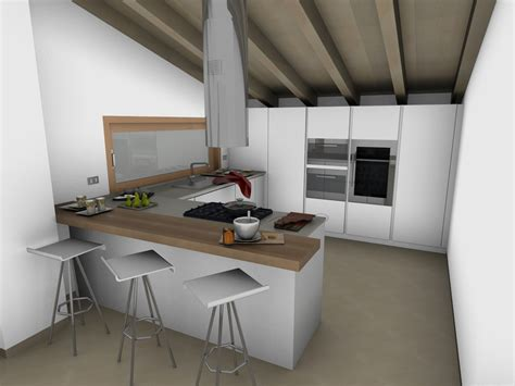 Cucina Per Mansarda la cucina in mansarda l2 arredamento