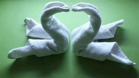 Napkin Origami Animals - 25 best ideas about towel animals on towel