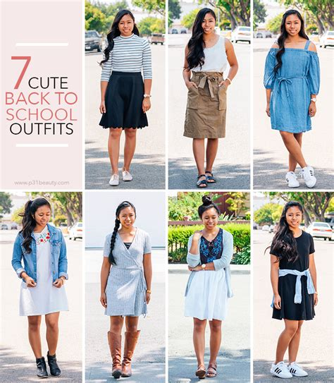 cute   school outfits    easily recreate