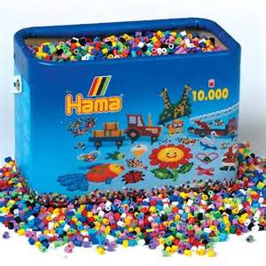 Halloween Arts Crafts - hama 174 beads bucket