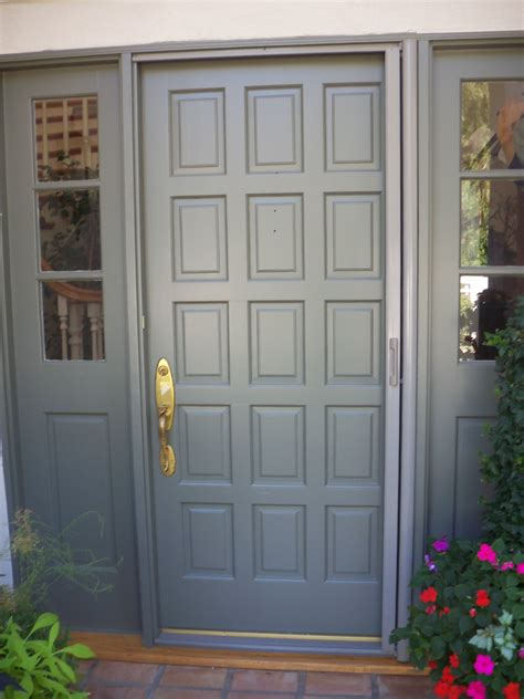 Front Door With Screen Door Retractable Screen Door Licensed Contractor Custom Screens