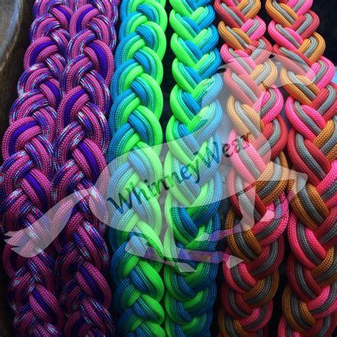 barrel racing horse hair braids braided barrel reins by whinneywear www whinneywear com