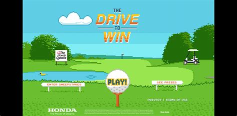 Enter Phone Number To Win Sweepstakes - hondadrivetowin com 2016 honda classic drive to win sweepstakes