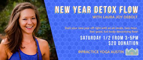 New Year Detox by New Year Detox Flow With Debolt Practice