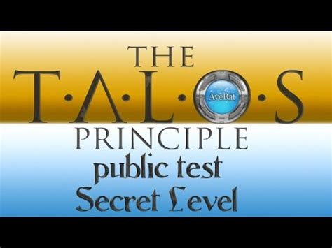secret test the talos principle test walkthrough secret level