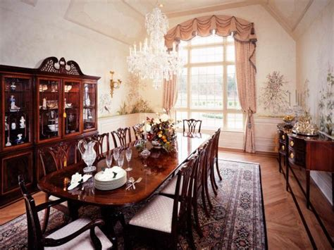 Formal Dining Room Tables For 12 Photo Page Hgtv