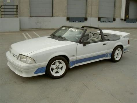 1991 saleen mustang sell used 1991 ford mustang saleen convertible 43 in