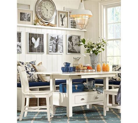 pottery barn kitchen island regarding your own home stirkitchenstore com ryland drop leaf table modular banquette
