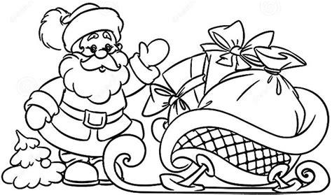 imagenes de santa claus para whats dibujos para colorear de santa claus y rodolfo el reno