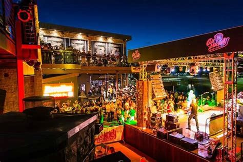 Bar N Live Band On Stage Picture Of Gas Monkey Bar N Grill