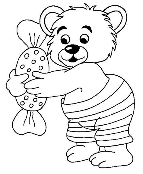 Charlie Bear Coloring Pages | charlie bear free colouring pages