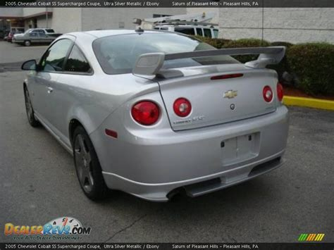 chevrolet cobalt ss supercharged coupe ultra silver
