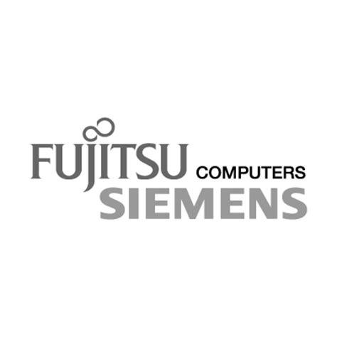 fujitsu logo fujitsu siemens gray vector logo