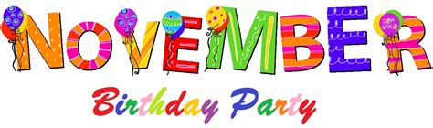 birthday themes for november november birthday celebration st mary s