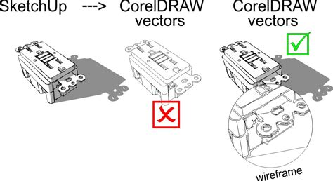 sketchup layout vector draw x7 and sketchup coreldraw x7 coreldraw graphics