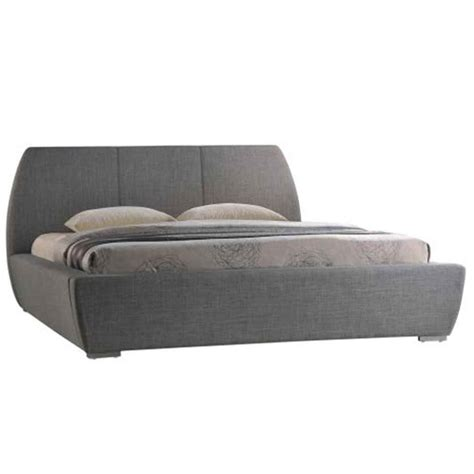Bed Fabric Kingsize Bed Frame Grey Next Day Delivery Grey Curved Design Fabric Bed Frame King Size 6ft Free Next Day Delivery