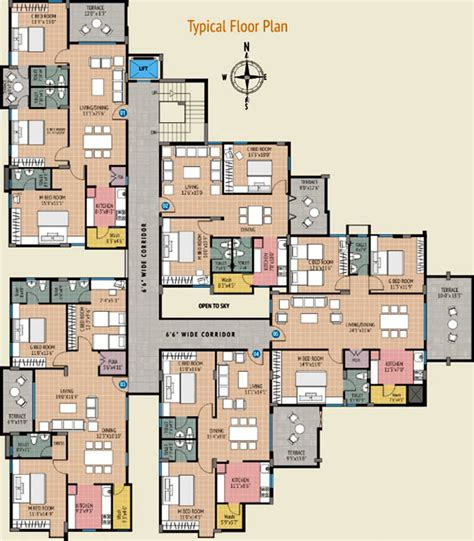 1650 sq ft 3 bhk 2t apartment for sale in home line infra