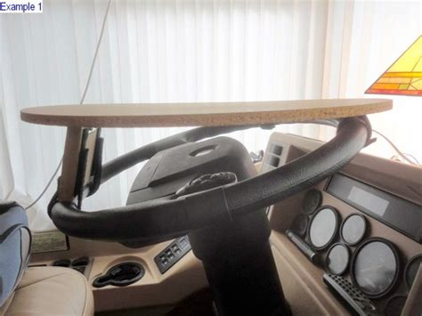 Steering Wheel Table rv steering wheel table mod don t you need another place