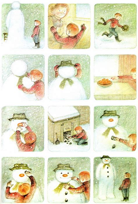 the snowman picture book vintage books my kid the snowman