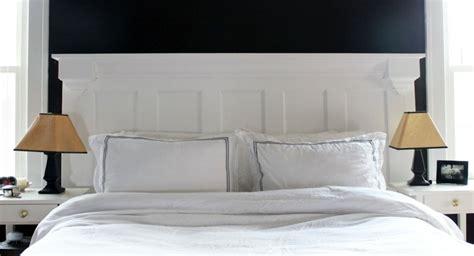 fabriquer une tête de lit en bois 2208 fabriquer une t 234 te de lit en bois avec une porte la
