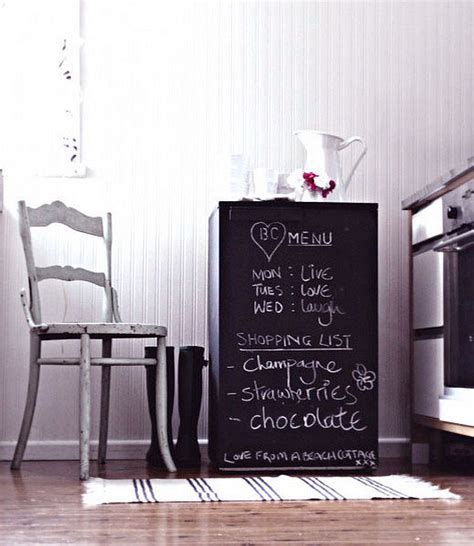 chalkboard paint small chalkboard madness in the home organization