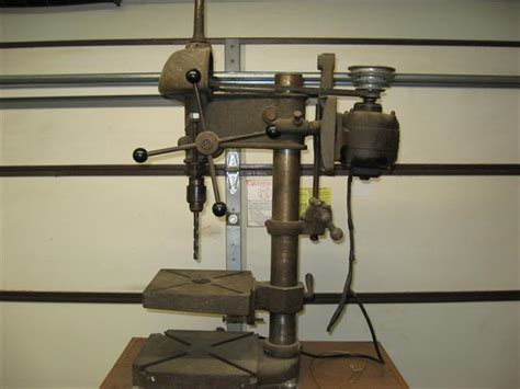 photo index walker turner co inc model 900 drill press vintagemachinery org